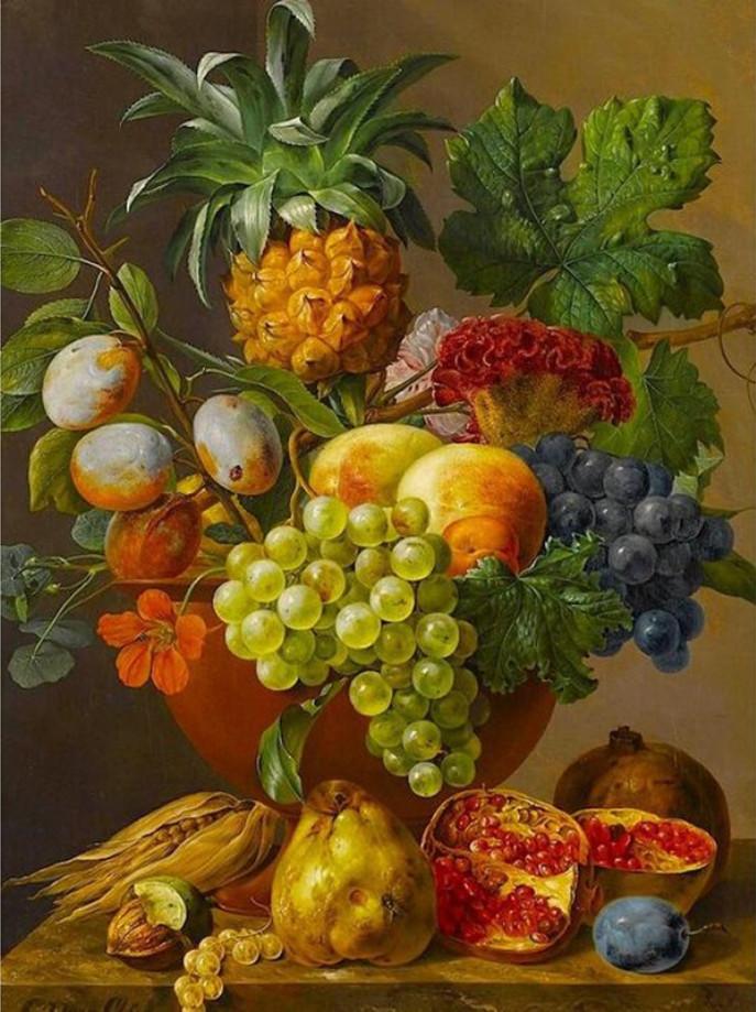 Gaira Malování podle čísel Ovoce M1178