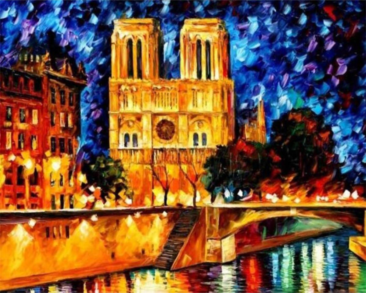Gaira Malování podle čísel Notre-Dame M991787