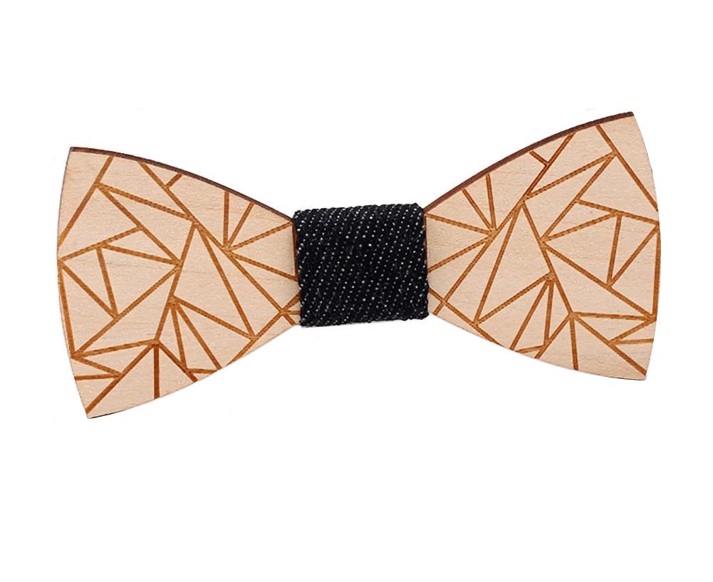 Dřevěný motýlek Gaira 709057