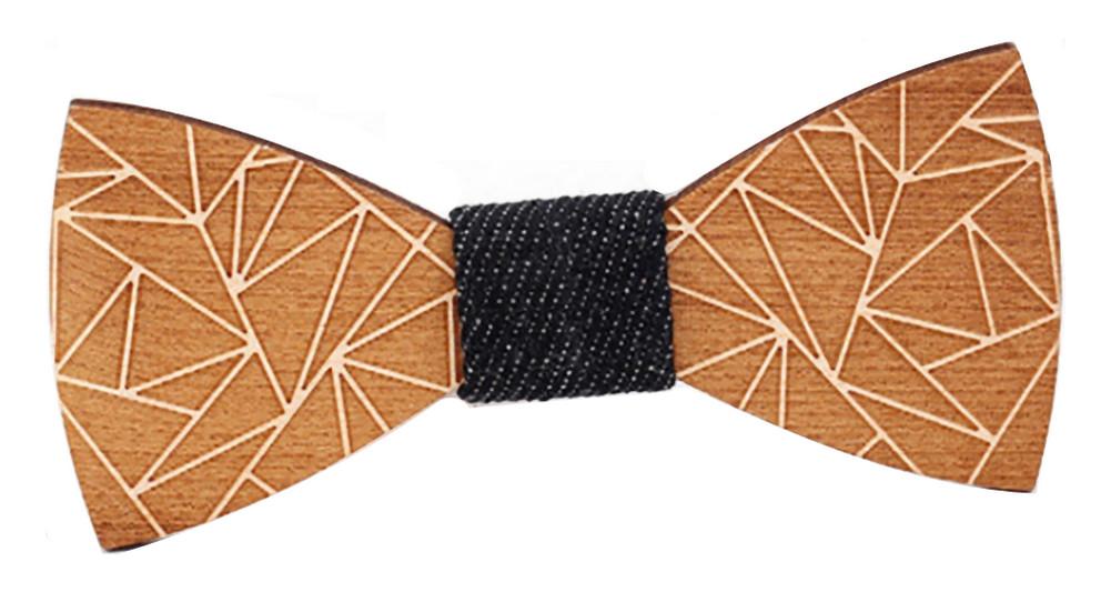 Dřevěný motýlek Gaira 709058