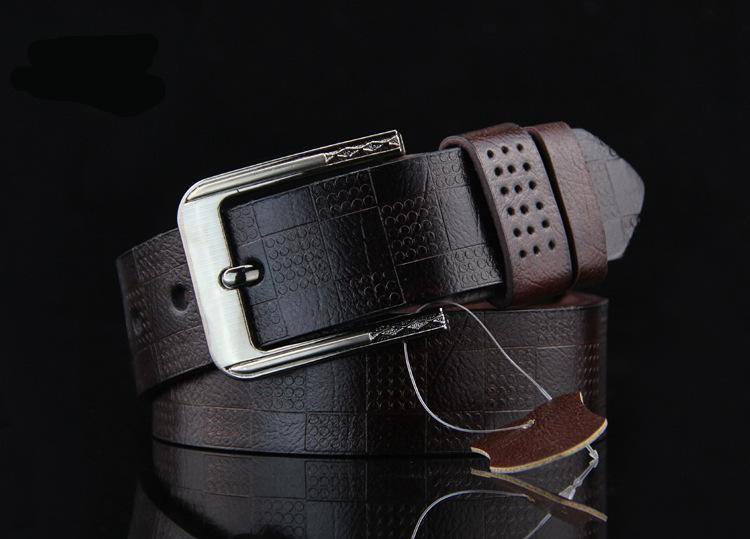 Opasek Gaira 710001-29P tmavě hnědý