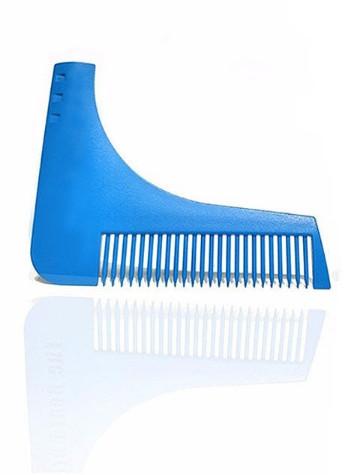 Hřeben pro úpravu vousů Gaira modrý