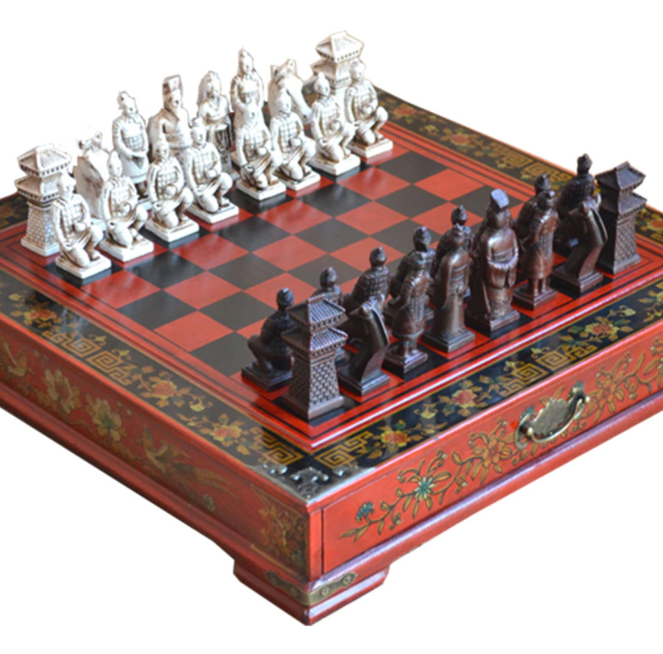 Gaira® Šachy Terracottova armáda 26x26cm